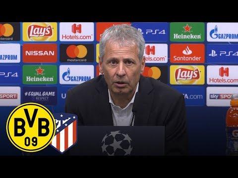 Vier-Tore-Wahnsinn gegen Atlético | PK mit Lucien Favre | Borussia Dortmund - Atlético Madrid 4:0