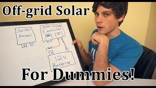 Off-grid Solar for Dummies: Beginner Basics