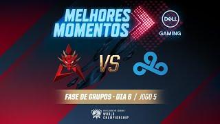 Mundial 2019: Fase de Grupos - Dia 6 | Melhores Momentos HKA x C9 (Jogo 5) (By Dell Gaming)