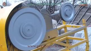 Мини канатная машина для распила гранитных и мраморных блоков WS 11(, 2016-02-03T14:10:13.000Z)