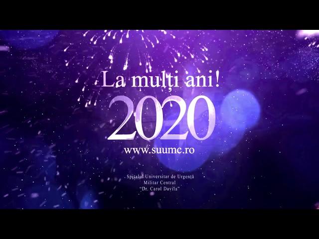 La mulți ani 2020!