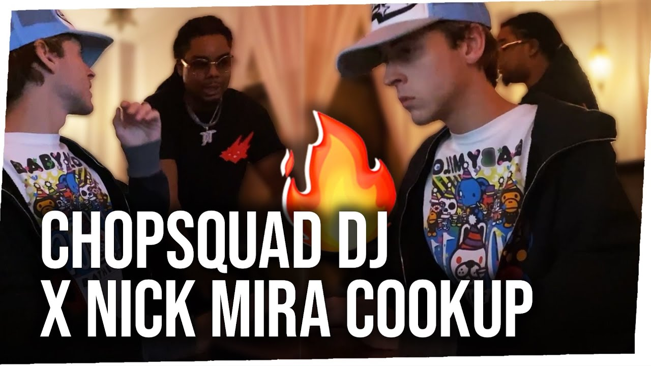 Chopsquad DJ x Nick Mira Collab - Making Beats from Scratch 🔥 [07/18/21]