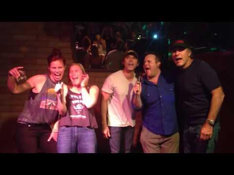 Longmire Cast Can Karaoke