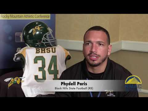 Black Hills State Football Media Day One-On-One Interviews
