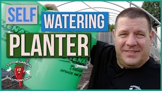 Build Your Own Self Watering Planter - Sub-Irrigated Planter (SIP) How To Instructions
