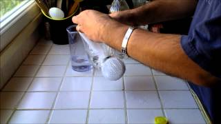 Comment enlever le calcaire d'un pommeau de douche HD