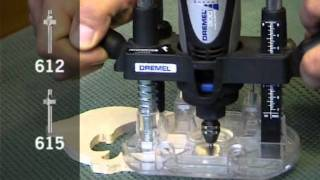 How to use Dremel Plunge Router Attachment - Origo DIY Tools thumbnail