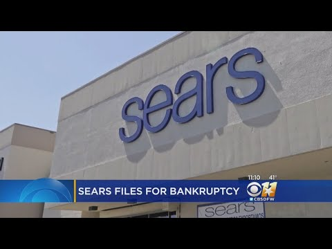 9 Sears Locations Across Texas Closing After Bankruptcy Filing