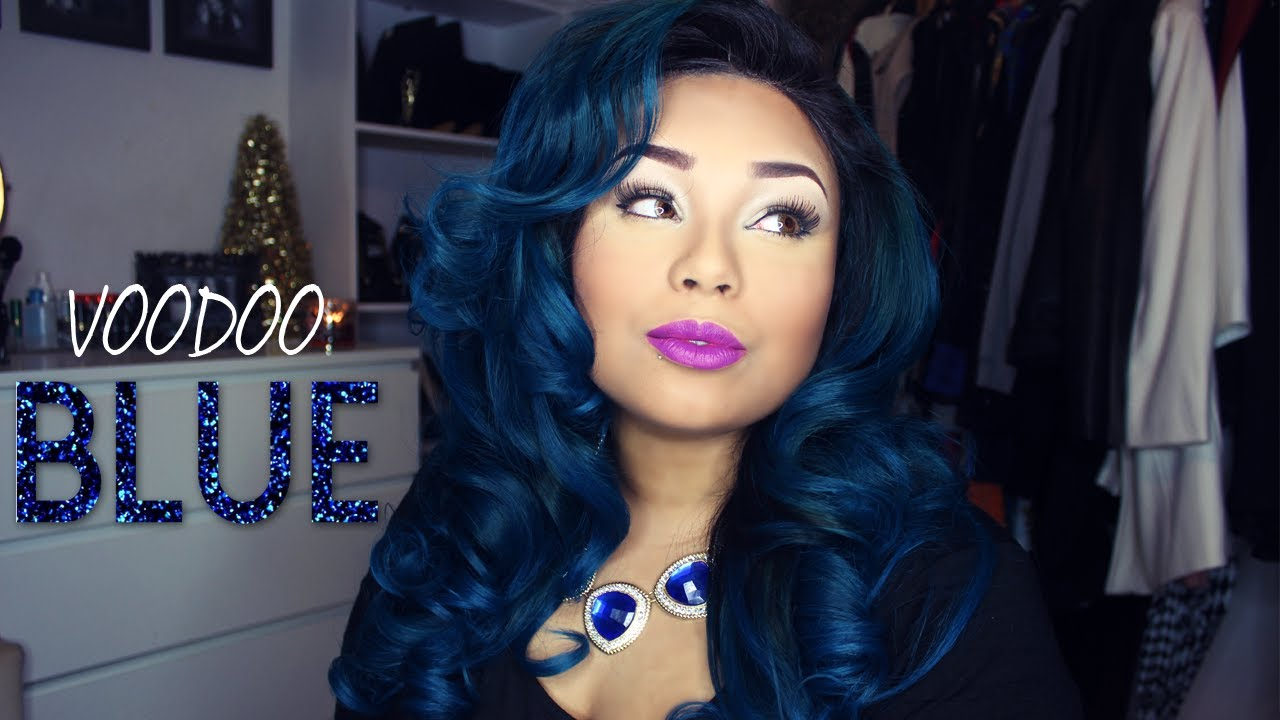 Voodoo Blue Ombre Blue Hair Youtube