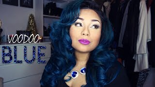 Repeat youtube video VOODOO BLUE | OMBRE BLUE HAIR