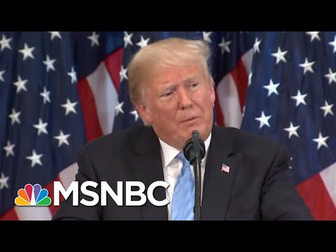 President Donald Trump Accusing China (Not Russia) Of Election Meddling | The 11th Hour | MSNBC