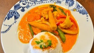 Thai Red Curry (vegetarian)