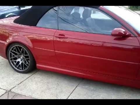2003 Bmw M3 Convertible Youtube