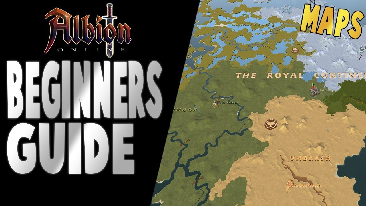 Albion Online Beginners Guide Maps Youtube