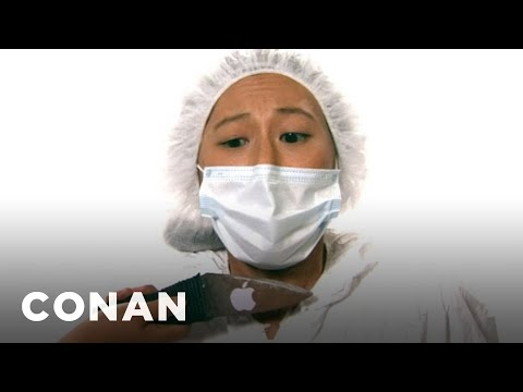The Apple IShiv is listed (or ranked) 7 on the list The Very Best Viral Conan Clips of 2012