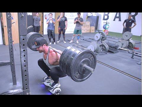 Squatting 315 on a WHAT? | Futuristic Squats | Bradley Martyn