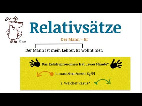lerne deutsch relativstze teil 1 youtube - Relativsatze Beispiele