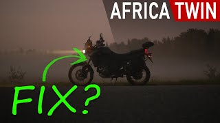 Africa Twin front end bounce solution?
