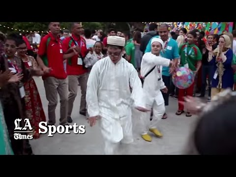 Many languages but the Special Olympics speak one
