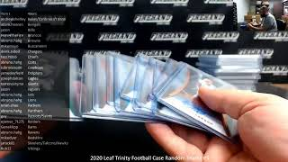 Monday Night Ryan! Live Case and Box Sports Cards Breaks!