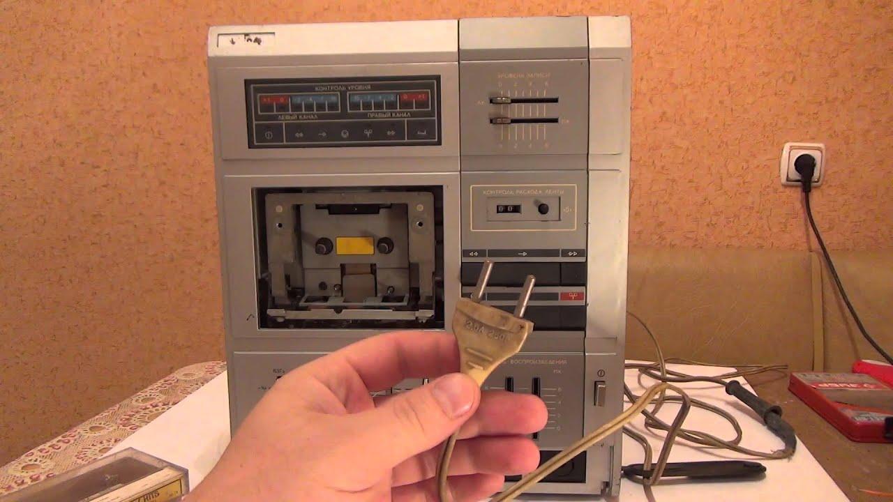 Магнитофон маяк-233 стерео в хорошим состояние не давно купил .