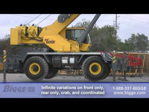 2006 Grove RT650E Rough Terrain Crane for Sale - Bigge Crane and Rigging