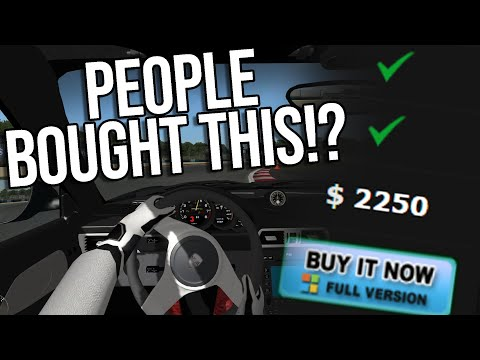 I Bought The World's Worst Racing Simulator So You Don't Have To
