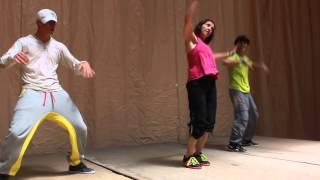 Zumba Getting Nasty Soledad Roldan, Roney y Seluco en Hoyo de Manzanares 25052013