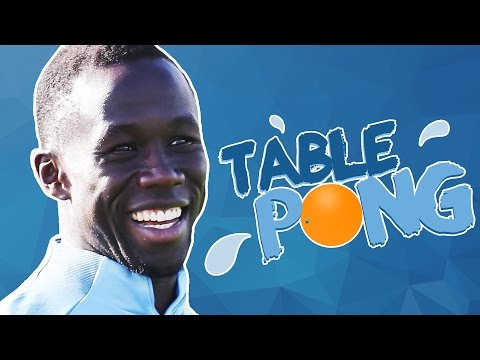 BACARY SAGNA TABLE PONG CHALLENGE! | Sagna v Chappy | Team Elf v Team Santa