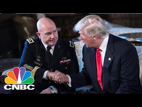 President Trump Picks H.R. McMaster As New Security Advisor   Squawk Box   CNBC