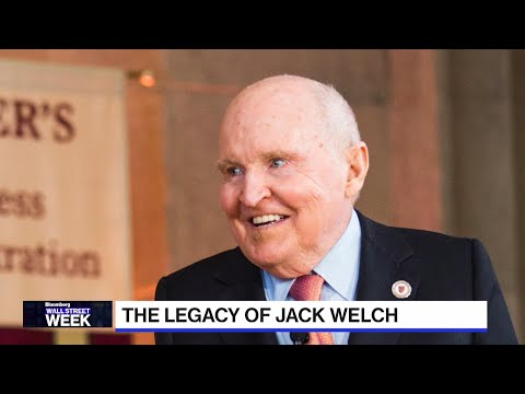 Remembering GE CEO Jack Welch