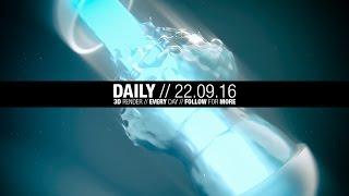 The Daily Render // 22.09.2016 // Timelapse / Speedart // MAXON Cinema 4D // OTOY OctaneRender