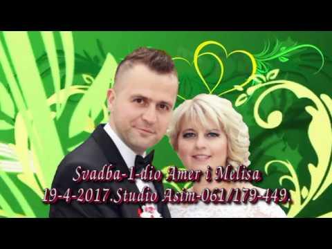 Svadba Amer i Melisa 1 dio HD Uživo 19 4 2017 Potočari Gračanica kod Doboja Asim Snimatelj