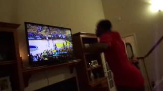 REACTION LEBRON BEAT GOLDEN STATE WARRIORS! THE GREATEST RING EVER IN HISTORY OF NBA REACTION!