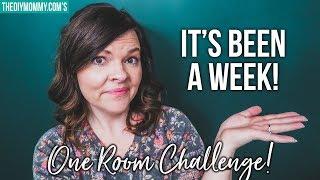 OVERWHELMED. (One Room Challenge Week 2 Update)