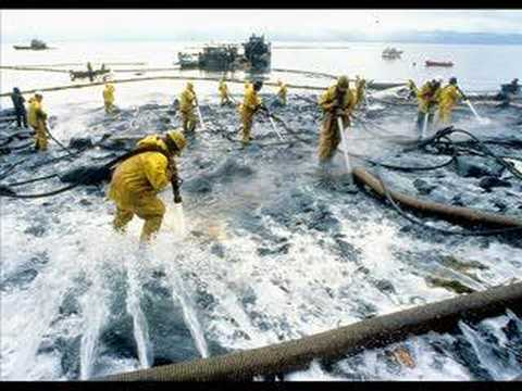 la catastrophe de l'Exxon Valdez