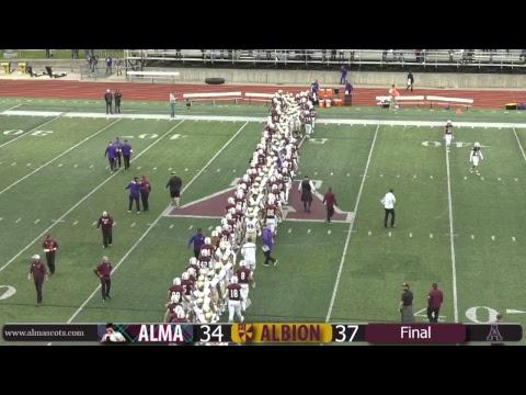 NCAA Division III Football - Alma College vs. Albion College