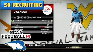 BEST RECRUIT EVER??? | CUSTOM RECRUITS & SCOUTING (S6) | NCAA Football 14 Dynasty Ep. 87