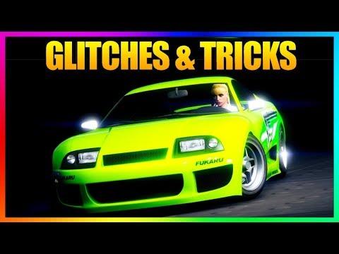 GTA 5 Online - SOLO *WORKING* GLITCHES & TRICKS! (Secret Wallbreach, Clothing Glitch, Hiding Spot)