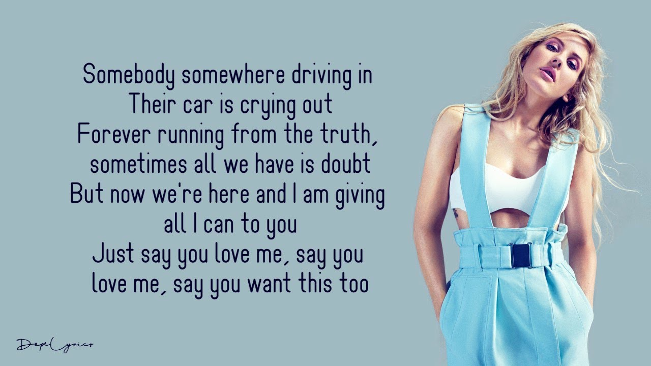Ellie Goulding The Greatest Lyrics