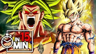 DRAGON BALL Z 'BROLY TRILOGIE' IN 15 MINUTEN