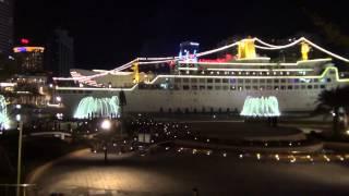 Путешествие в Китай #24: Морской мир и музыкальные фонтаны