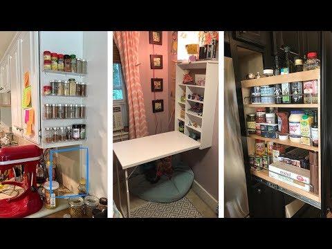 24 Super Genius Small Kitchen Storage Hacks