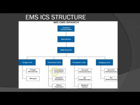 Incident Command & Mass Casualty Incidents For EMS Providers Lecture