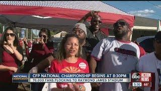 70,000 fans flocking to Raymond James Stadium