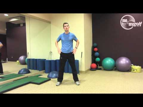 Golf Fitness – Pelvic Rotation Drill