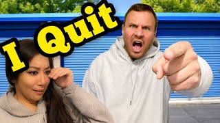 JEREMY QUITTING JOB I Bought Abandoned Storage Unit Locker / WHAT'S IN THE BOX CHALLENGE