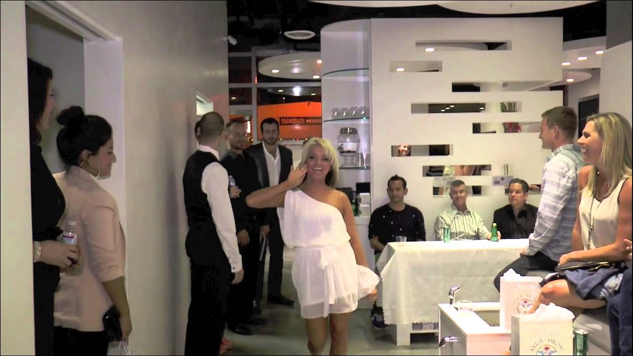 Luxe Lounge & Spa Grand Opening Party - YouTube