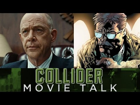 Collider Movie Talk - JK Simmons Cast As Commissioner Gordon In Justice League