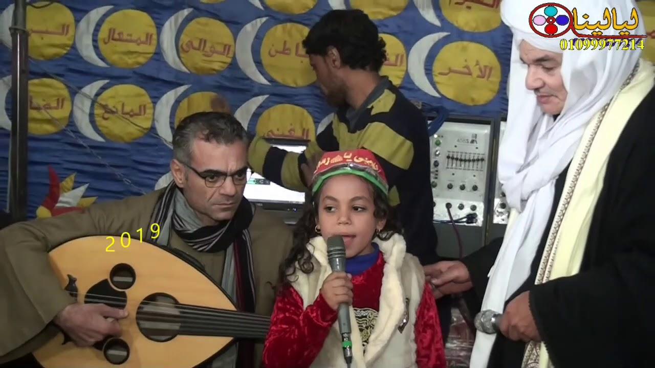 الطفله التي ابهرت الشيخ امين الدشناوي والحفل بمدح المصطفي عليه الصلاة والسلام